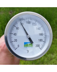 Agtec Light Duty Compost Thermometer with 48in Stem (0-200°F)